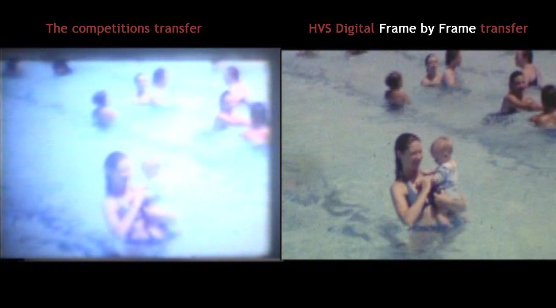 Frame By Video Vs Camera Capture Digital Analog